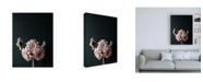 """Trademark Global Design Fabrikken Pink Black Fabrikken Canvas Art - 19.5"""" x 26"""""""