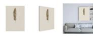 """Trademark Global Incado Feather 07 Canvas Art - 15.5"""" x 21"""""""