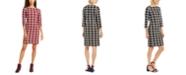 Charter Club Petite Plaid Sheath Dress, Created for Macy's