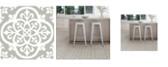 FloorPops WallPops Medina Peel Stick Floor Tiles