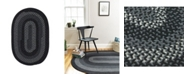 Colonial Mills Walden Black and Charcoal 2' x 4' Accent Rug