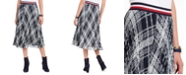 Tommy Hilfiger Plaid Pleated Skirt
