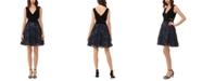XSCAPE Petite Fit & Flare Dress