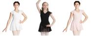 Capezio Little and Big Girls Flutter Sleeve Dress