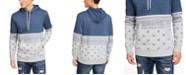 American Rag Men's Paisley Blocked Hoodie, Created For Macy's