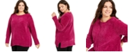 Style & Co Plus Size Chenille Sweater, Created For Macy's