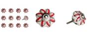 KNOB-IT Handpainted Ceramic Knob Set of 12