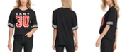 DKNY Graphic Elbow-Sleeve Top