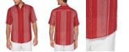 Cubavera Men's Big & Tall Regular-Fit Yarn-Dyed Stripe Shirt