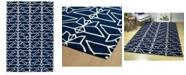 Kaleen Origami ORG07-22 Navy 2' x 3' Area Rug