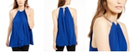 Michael Kors Sleeveless Chain-Link Halter Top, Created For Macy's