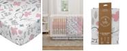 Lolli Living Mazie Floral Crib Sheet