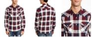 American Rag Men's David Western Check Shirt