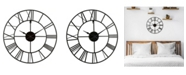 """La Crosse Technology La Crosse Clock 404-3451 20"""" Metal Tower Wall Clock"""