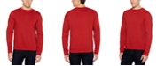 Perry Ellis Men's Ottoman Rib Knit Long Sleeve T-Shirt