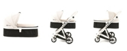 Posh Baby and Kids Out Peak Milkbe Carry Cot Bassinet for Self Stopping Stroller