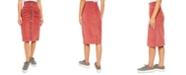 Free People I Want It All Corduroy Midi Skirt
