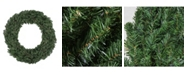 Northlight 6' Commercial Size Canadian Pine Artificial Christmas Wreath - Unlit