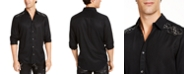 INC International Concepts INC Men's Embroidered Skull Shirt, Created For Macy's