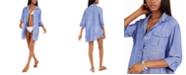 Dotti Travel Muse Shirtdress Cover-Up
