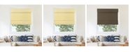 """Chicology Cordless Magnetic Roman Shades, Privacy Fabric Window Blind, 33"""" W x 64"""" H"""