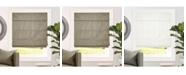 "Chicology Cordless Roman Shades, Blackout Lining Cascade Window Blind, 27"" W x 64"" H"