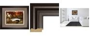 "Classy Art Bow Bridge by Tom Reeves Framed Print Wall Art, 34"" x 40"""