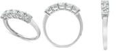 Macy's Diamond Five Stone Band (1 ct. t.w.) in 14k White Gold