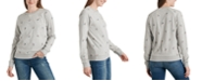 Lucky Brand Allover-Embroidered Top