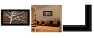"""Trendy Decor 4U What if You Fly by Marla Rae, Ready to hang Framed Print, Black Frame, 27"""" x 15"""""""