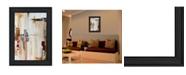 "Trendy Decor 4U Trendy Decor 4U Falling Blocks by Cloverfield Co, Ready to hang Framed Print, Black Frame, 15"" x 21"""