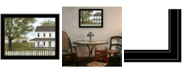 """Trendy Decor 4U Green, Green Grass of Home by Billy Jacobs, Ready to hang Framed Print, Black Frame, 27"""" x 21"""""""