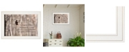 """Trendy Decor 4U Hang in There by Lori Deiter, Ready to hang Framed Print, White Frame, 21"""" x 15"""""""