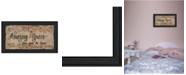 "Trendy Decor 4U Amazing Grace By Gail Eads, Printed Wall Art, Ready to hang, Black Frame, 20"" x 9"""
