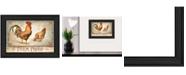 "Trendy Decor 4U Farm Fresh By Mollie B., Printed Wall Art, Ready to hang, Black Frame, 20"" x 14"""