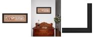 "Trendy Decor 4U Trendy Decor 4U Wise Owl By Mary June, Printed Wall Art, Ready to hang, Black Frame, 8"" x 20"""