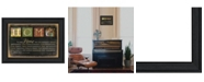 """Trendy Decor 4U Trendy Decor 4U In Our Home By Marla Rae, Printed Wall Art, Ready to hang, Black Frame, 14"""" x 10"""""""