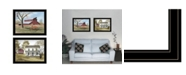 "Trendy Decor 4U Trendy Decor 4U End of Summer 2-Piece Vignette by Billy Jacobs, Black Frame, 27"" x 21"""