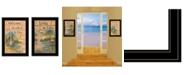"Trendy Decor 4U Living on the Lake 2-Piece Vignette by Mary June, Black Frame, 15"" x 21"""