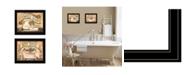 Trendy Decor 4U Trendy Decor 4U Bath Powder Room 2-Piece Vignette by Becca Barton Collection