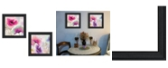"""Trendy Decor 4U Trendy Decor 4U Poppies Collection By Color Bakery, Printed Wall Art, Ready to hang, Black Frame, 30"""" x 15"""""""