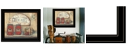 Trendy Decor 4U Trendy Decor 4U CHERRY JAM by Pam Britton, Ready to hang Framed Print, Black Frame Collection