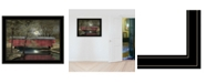 """Trendy Decor 4U Warm Summer's Eve by Billy Jacobs, Ready to hang Framed Print, Black Frame, 27"""" x 21"""""""