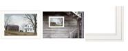 "Trendy Decor 4U Sunday Service by Billy Jacobs, Ready to hang Framed Print, White Frame, 21"" x 15"""