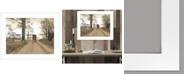 "Trendy Decor 4U Headin Home by Billy Jacobs, Ready to hang Framed Print, White Frame, 27"" x 21"""