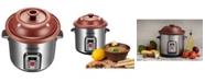VitaClay Smart Organic Clay Stock Pot and Multi-Crocks, 6 QT