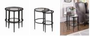 Coaster Home Furnishings Scott 2-Piece Nesting Table