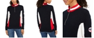 Tommy Hilfiger Cotton Mock-Neck Flag Sweater