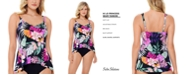 Swim Solutions Princess-Seam Tankini Top, Created for Macy's