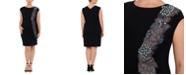 XSCAPE Plus Size Embellished Sheath Dress